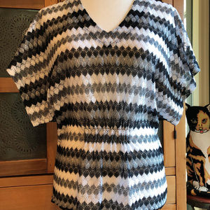 Lacy Blouse - Coldwater Creek - Size M